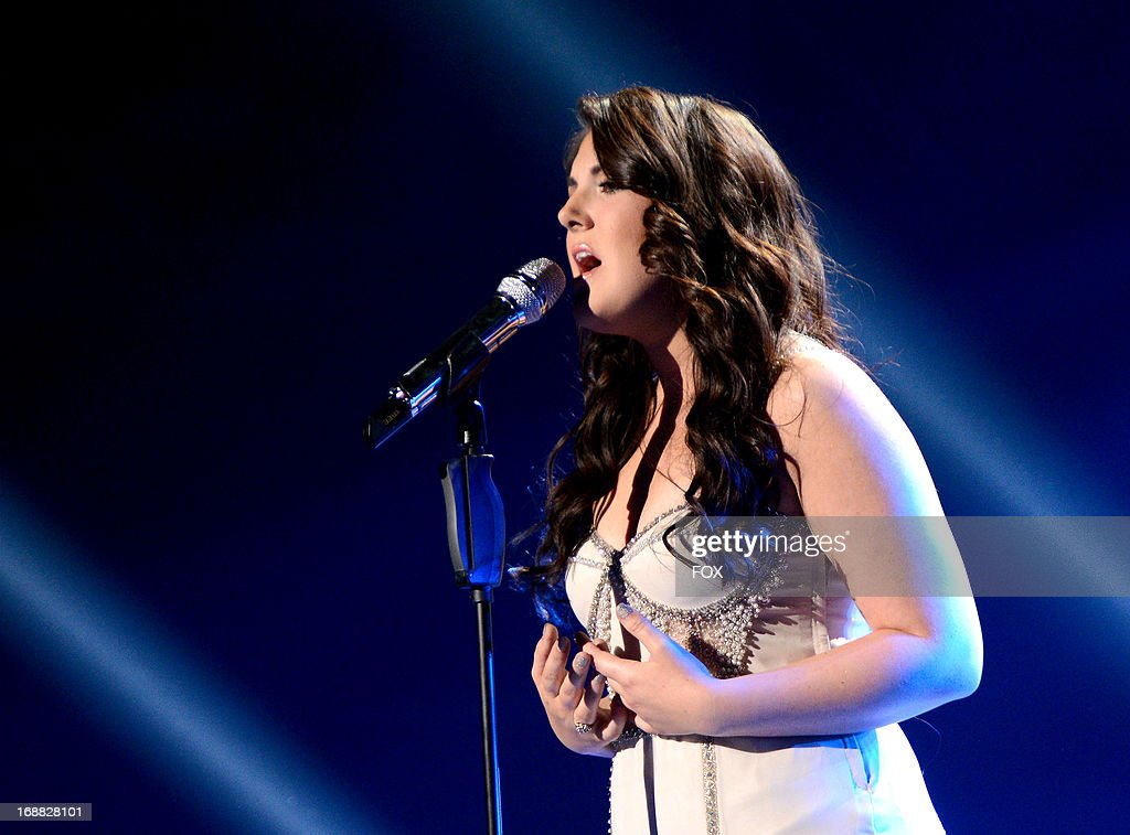 Contestant Kree Harrison performs onstage at FOX's 'American Idol' Season 12 Top 2 Live Performance Show at Nokia Theatre L.A. Live on May 15, 2013 in Los Angeles, California.