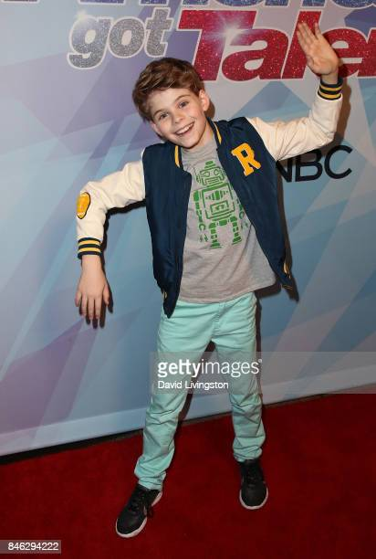 Contestant Merrick Hanna attends NBC's 'America's Got Talent' Season 12 live show at Dolby Theatre on September 12 2017 in Hollywood California