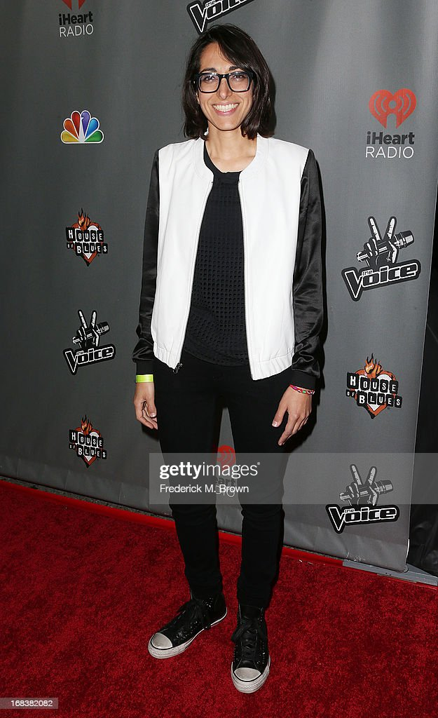 Contestant Michelle Chamuel attends NBC's 'The Voice' Season 4 Red Carpet Event at the House of Blues Sunset Strip on May 8, 2013 in West Hollywood, California.