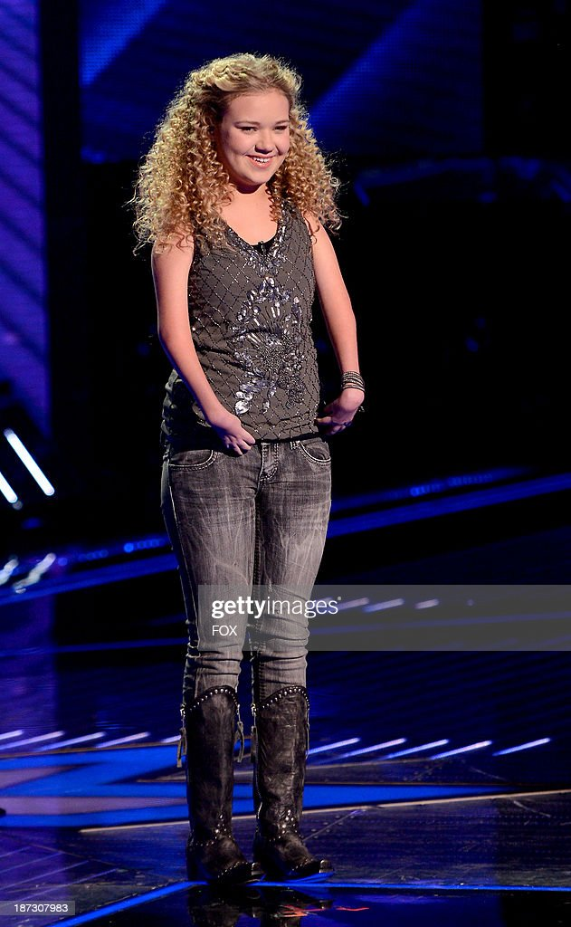 Contestant Rion Paige performs on FOX's 'The X Factor' Season 3 Top 13 Perform Again Live on November 7, 2013 in Hollywood, California.
