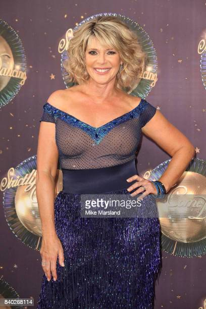Contestant Ruth Langsford attends the 'Strictly Come Dancing 2017' red carpet launch at The Piazza on August 28 2017 in London England