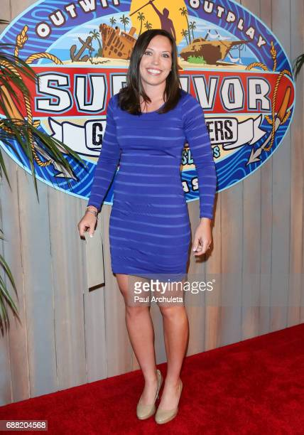 Contestant Sarah Lacina attends CBS' 'Survivor Game Changers Mamanuca Islands' at CBS Studios Radford on May 24 2017 in Studio City California