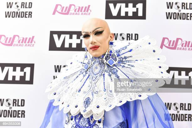 Contestant Sasha Velour attends 'RuPaul's Drag Race' Season 9 Finale Taping at Alex Theatre on June 9 2017 in Glendale California