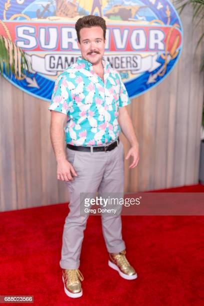 Contestant Zeke Smith attends the CBS' 'Survivor Game Changers Mamanuca Islands' finale at CBS Studios Radford on May 24 2017 in Studio City...