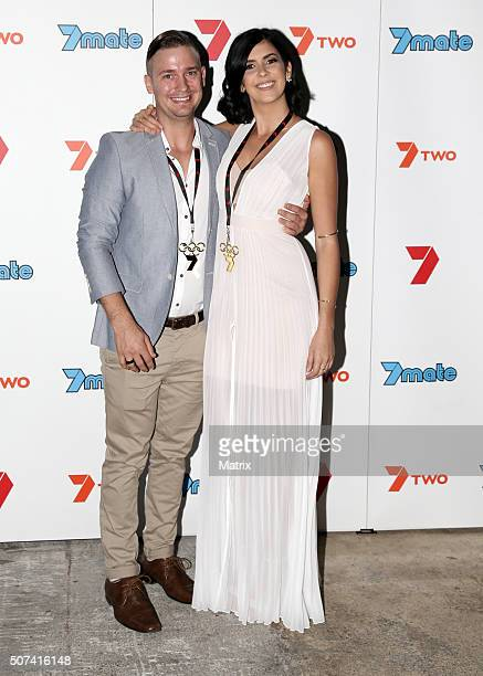 MKR contestants enjoy the MKR launch party on January 27 2016 in Brisbane Australia