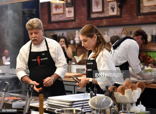 Contestants in the allnew Episode Eight episode of THE F WORD WITH GORDON RAMSAY airing Wednesday July 26 on FOX
