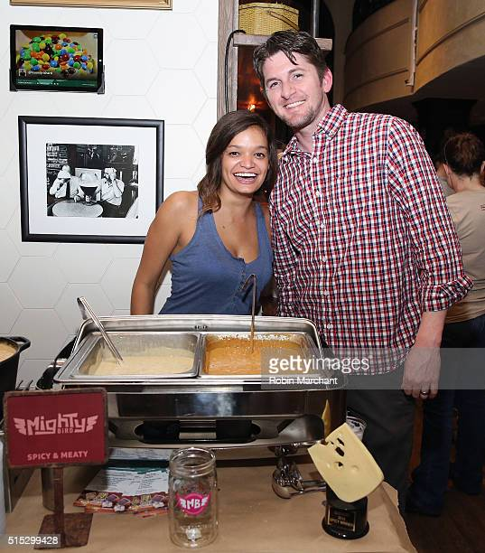Contestants of FYI Network Hosts FirstEver SXSW SoutBites Quesoff With Food Porn Star Michael Chernow At FYI BiteClub at The Driskill Hotel on March...