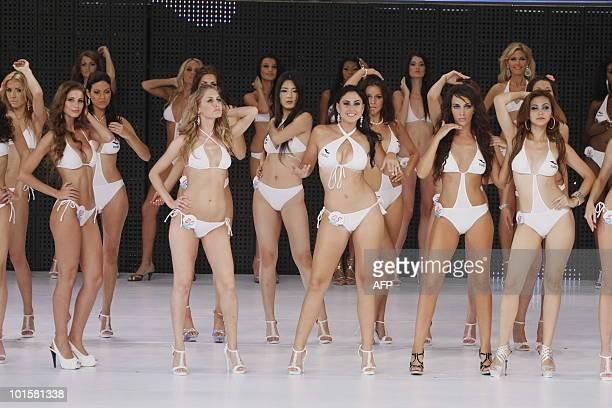 Bikini final miss pageant world