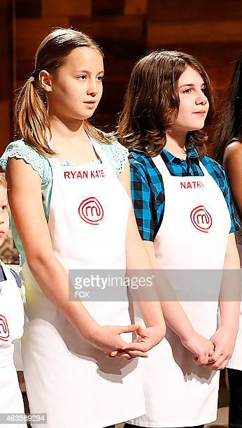 Contestants Ryan and Nathan in the Junior Edition Family Style episode of MASTERCHEF JUNIOR airing Tuesday Feb 3 2015 on FOX