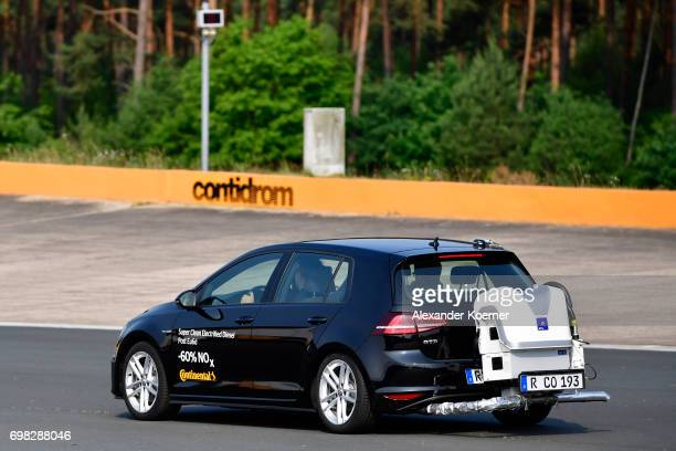 Continental AG presents a Super Clean Electrified Diesel which reduces compared to the Euro 6 standard 60 percent fewer NOx emissions during a media...