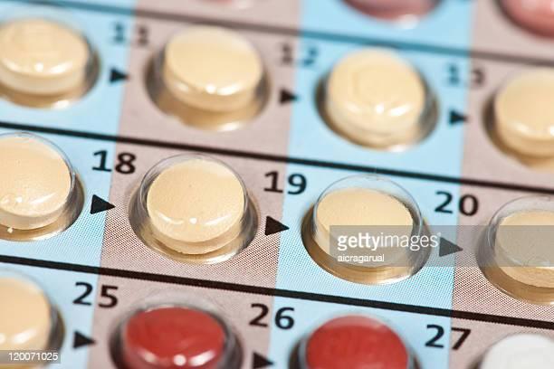 Contraceptif cachets