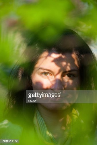Contrast of lights and shadows : Stock Photo