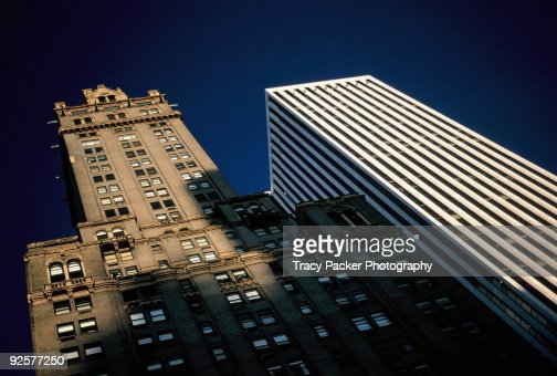 Contrasting architectural styles in new york city photo for Current architectural styles