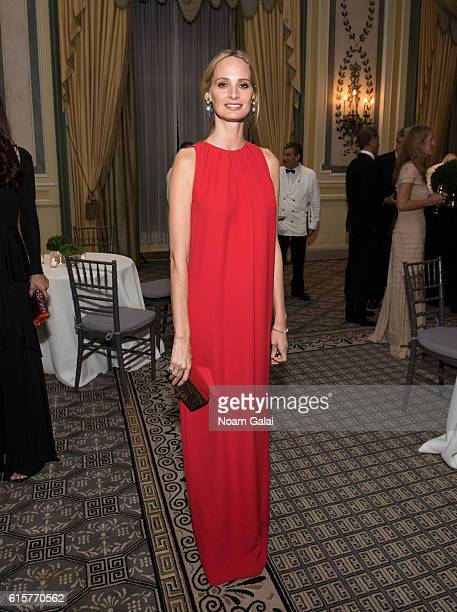 Contributing editor at Vogue Lauren Santo Domingo attends Dior The Boys' Club of New York 68th annual fall dance at The Pierre Hotel on October 19...