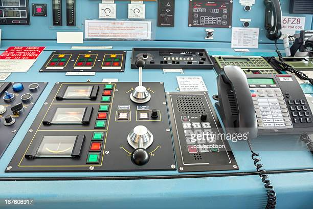 Control area of a big ship