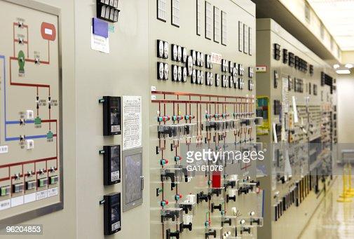 Kontrolle Schreibtisch im power plant