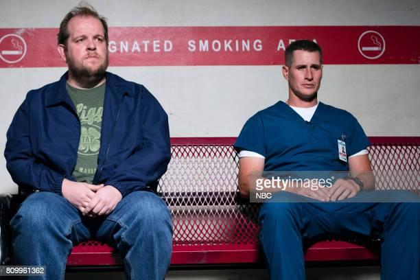 SHIFT 'Control' Episode 404 Pictured Dominic Burgess as Arthur Brendan Fehr as Drew Alister