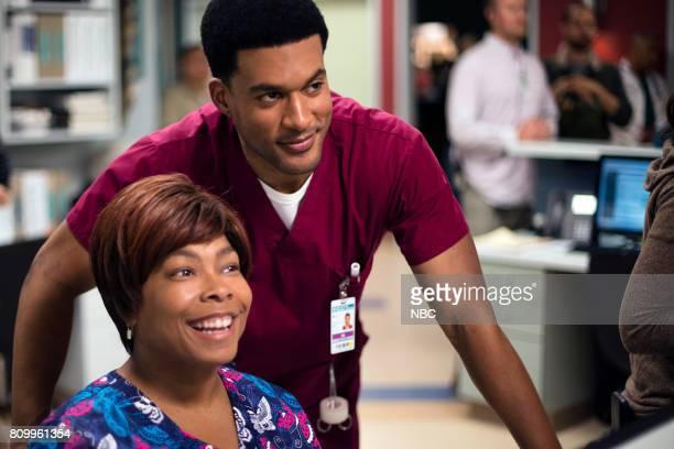 SHIFT 'Control' Episode 404 Pictured Esodie Geiger Nurse Mollie JR Lemon as Kenny Fournette