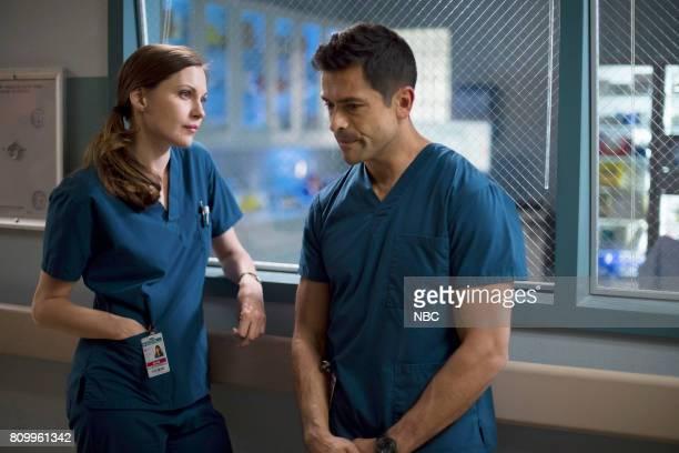 SHIFT 'Control' Episode 404 Pictured Jill Flint as Jordan Alexander Mark Consuelos as Cain Diaz