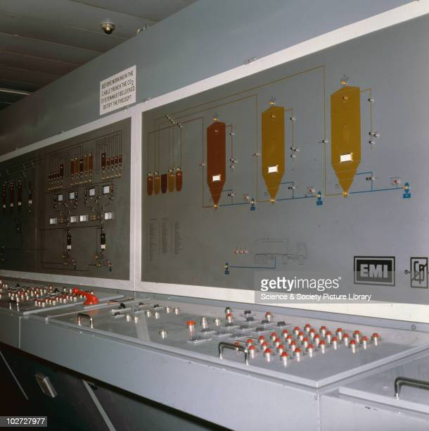 EMI control panel at Abbey Road Recording Studio EMI control panel at Abbey Road Recording Studio