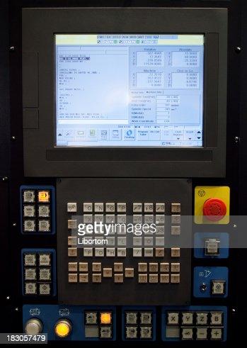 CNC-Control-panel