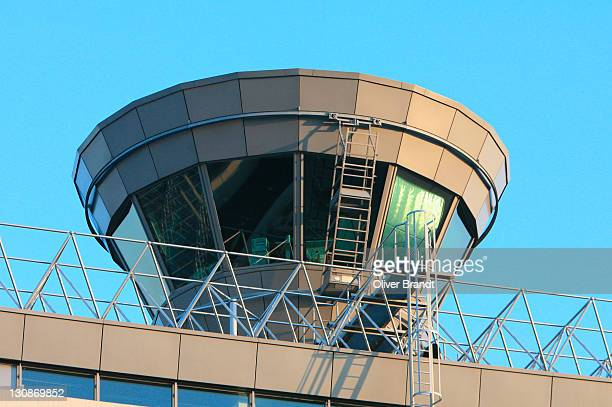 Control tower, airport Cologne-Bonn, North-Rhine Westphalia, Germany
