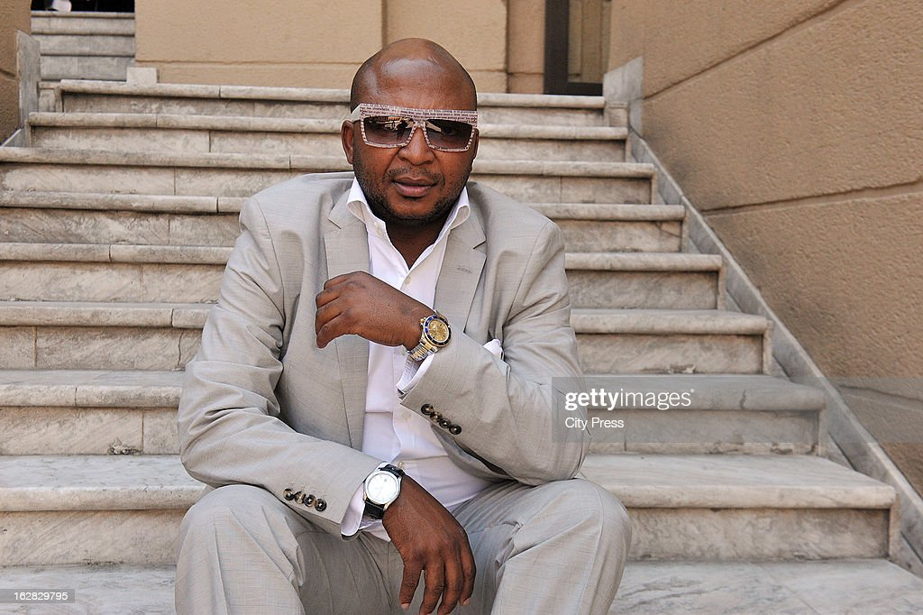 Controversial businessman Kenny Kunene talks to City Press newspaper on October 17, 2012 in Johannesburg, South Africa. He spoke about his upcoming birthday, revealing his plans of 'spending less than R2 million' on five parties.