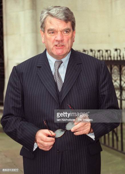 Controversial historian David Irving arrives at the High Court in London where he is pursuing a libel action against American academic Professor...