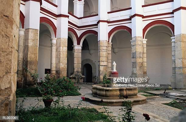 Convent Fountain, Oaxaca