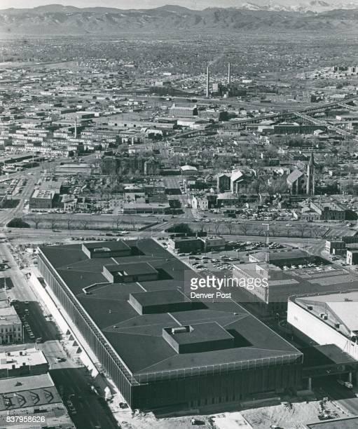 Convention center Denver Co Aerial Views 1969 Credit Denver Post