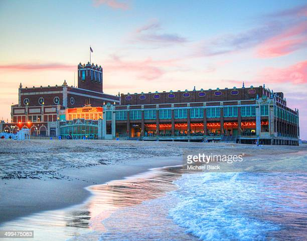 CONTENT] Convention Hall Asbury Park New Jersey at sunset Asbury Park is a city in Monmouth County New Jersey United States located on the Jersey...