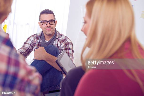 Conversation in the Office