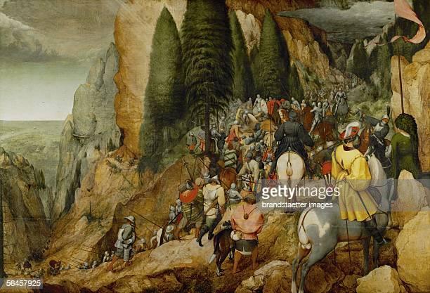 Conversion of Saint Paul Oil on oakwood Size 108 x 156 cm Cat 54 Inv 3690 [Bekehrung des Hl Paulus oel/Eiche Size 108 x 156 cm Cat 54 Inv 3690]