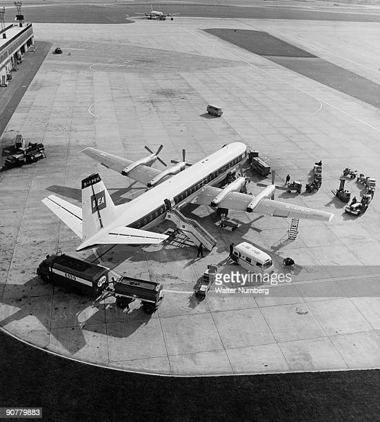 Manchester Boston Regional Airport Mht: Ringway Photos Et Images De Collection
