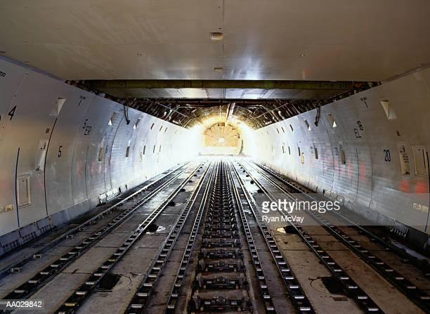 Conveyor Belt of Cargo Company