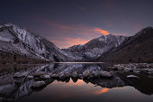 Convict Lake At Twilight