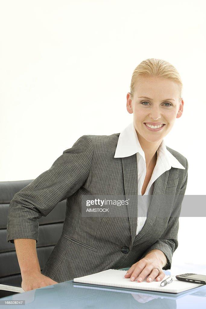 Convincing Executive Woman