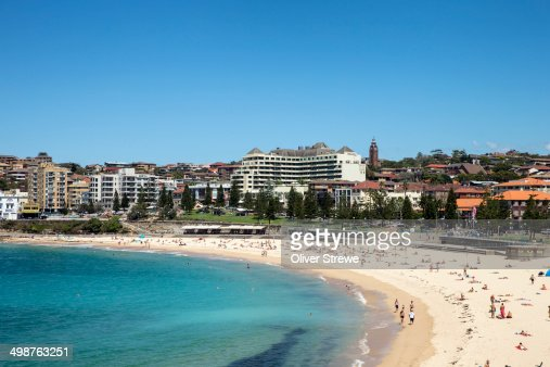 Coogee Beach on a summers day