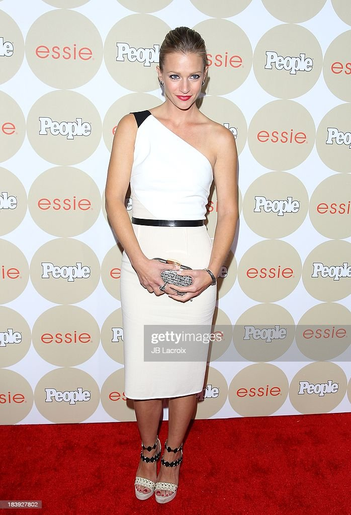 A.J Cook attends the People's One To Watch Event held at Hinoki & The Bird on October 9, 2013 in Los Angeles, California.