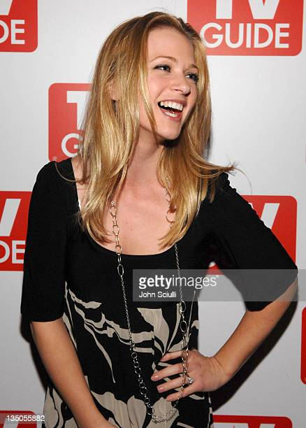 AJ Cook during TV Guide Celebrates the Premiere Annual Issue The Sexy Issue at Bar Marmont in West Hollywood California United States