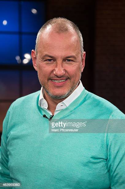 Cook Frank Rosin attends the 'Koelner Treff' TV Show at the WDR Studio on February 20 2015 in Cologne Germany