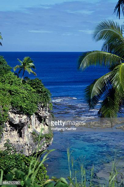 Cook Islands Niue Island Coastal Landscape