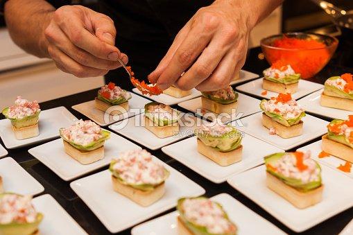 Preparar deliciosos platos canap s gourmet entradas en - Platos gourmet economicos ...