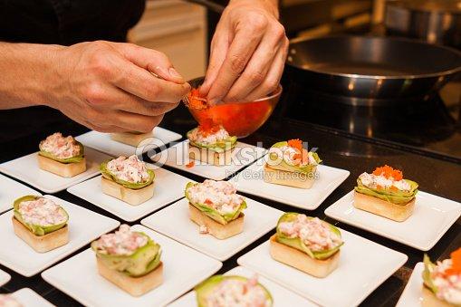 Preparar deliciosos platos canap s gourmet entradas foto - Platos gourmet economicos ...