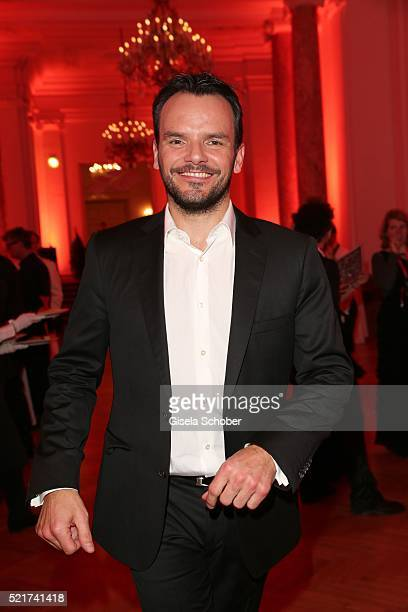 Cook Steffen Henssler during the 27th ROMY Award 2015 at Hofburg Vienna on April 16 2016 in Vienna Austria