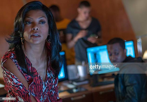 Cookie gives Hakeem some advice in the 'False Imposition' episode of EMPIRE airing Wednesday Jan 28 2015 on FOX