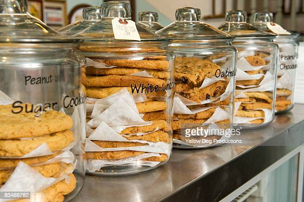 Cookie Jars on Counter