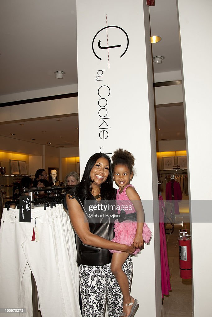 Cookie Johnson and her granddaughter Gigi attend Cookie Johnson And Neiman Marcus Host Girls Night Out on April 18, 2013 in Beverly Hills, California.