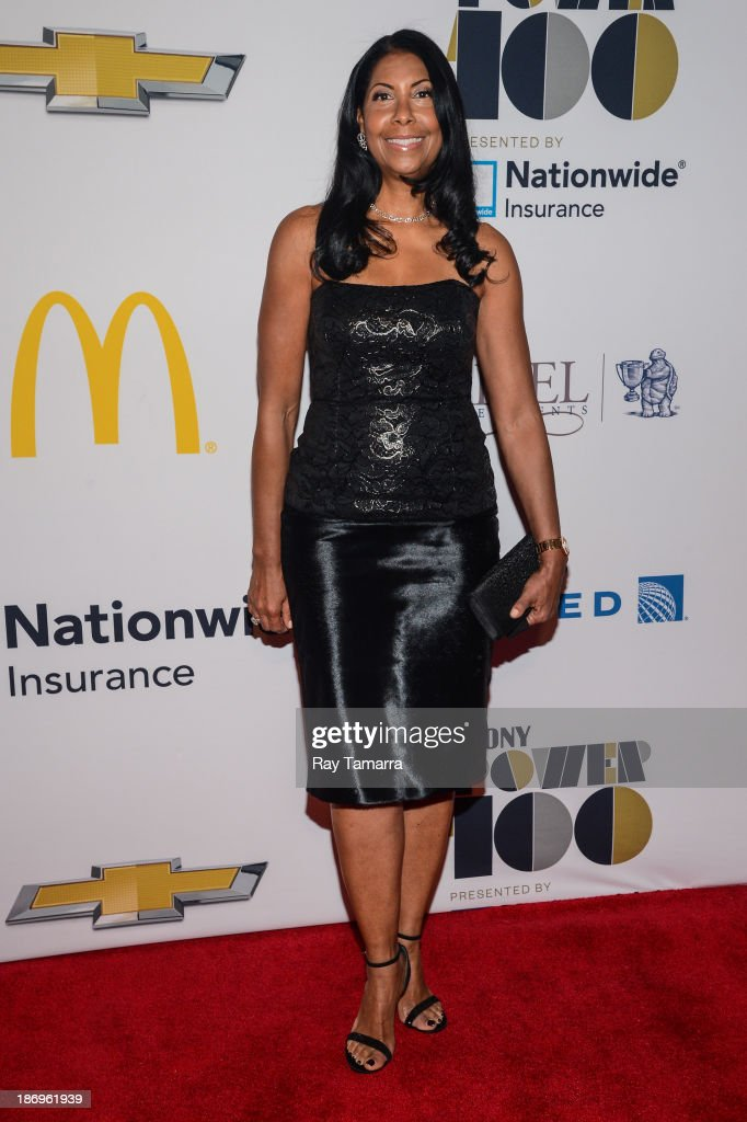 <a gi-track='captionPersonalityLinkClicked' href=/galleries/search?phrase=Cookie+Johnson&family=editorial&specificpeople=846852 ng-click='$event.stopPropagation()'>Cookie Johnson</a> attends the 2013 EBONY Power 100 List Gala at Frederick P. Rose Hall, Jazz at Lincoln Center on November 4, 2013 in New York City.