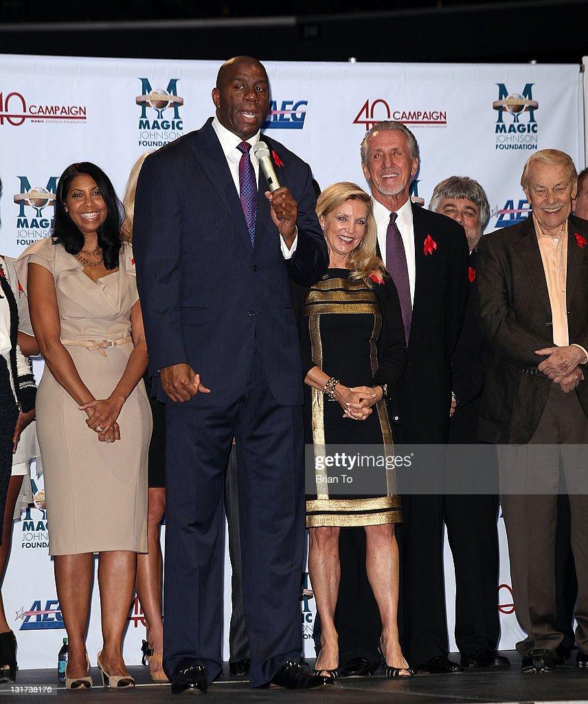 20th Anniversary Of The Magic Johnson Foundation Press Conference